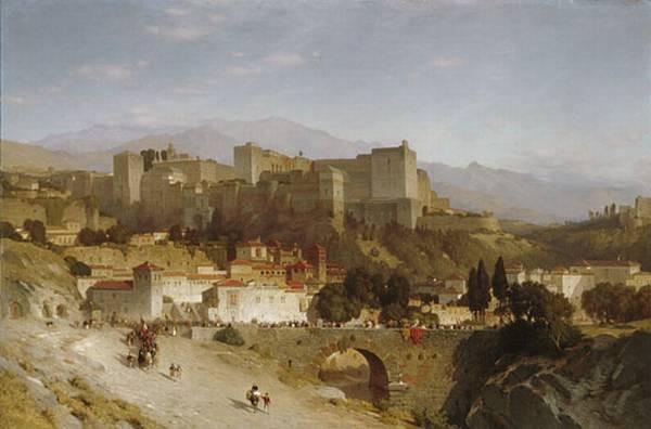 The Hill Of The Alhambra Granada